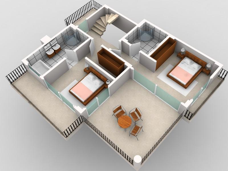 3d tasar m kat planlar for Quiero estudiar diseno de interiores